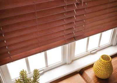 custom-mahogony-faux-wood-blinds-brampton-oshawa-pickering-ajax-whitby-mississauga-oakville-barrie-inisfille